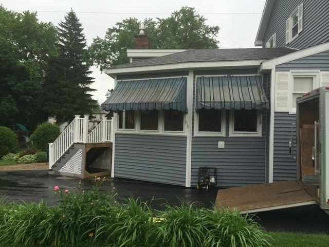 Lifting and stabilizing an existing covered porch