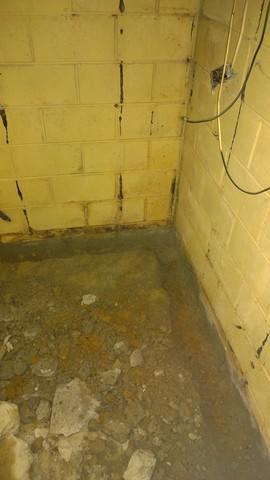 West Louisville, KY Wet Basement Repair