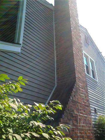 Piering Fixes Separating Chimney in Cherry Hill