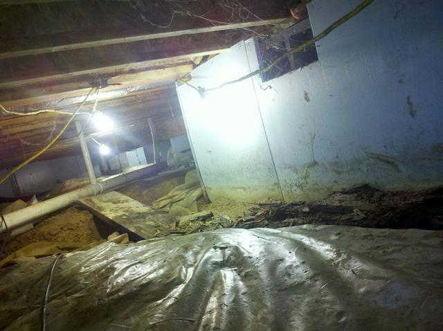 Fort Knox, KY Crawlspace Repair Project