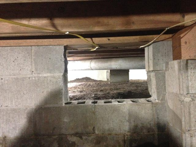 Brandenburg, KY Crawlspace Restoration