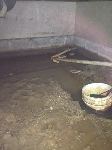 Marion, KY Crawlspace Repair Project