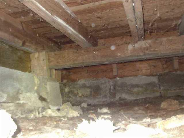 Sagging Floors & Mold Problem Eliminated from Saugatuck Home