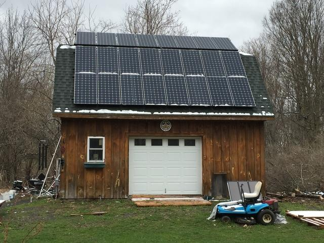 Marcellus, NY Customer Goes Green with Solar