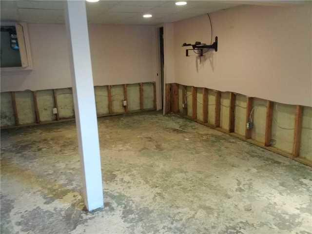 Hurricane Damaged Basement Waterproofed in Imlaystown, NJ