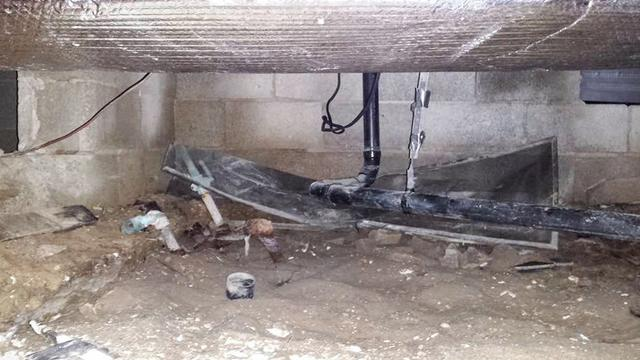 Crawl Space Restoration in Ocean City, New Jersey