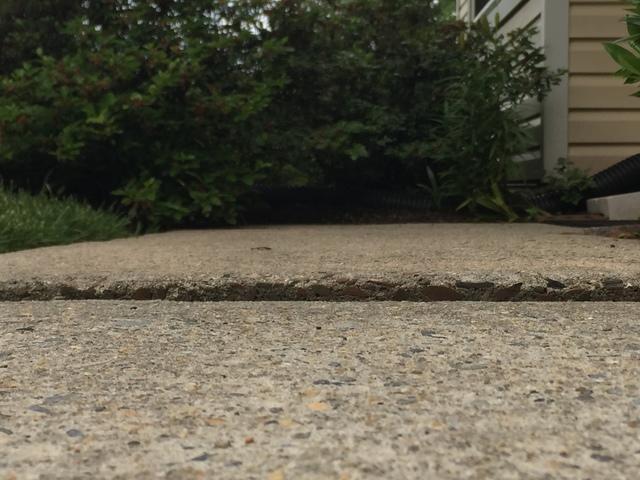 Uneven Walkway in Blue Bell, PA