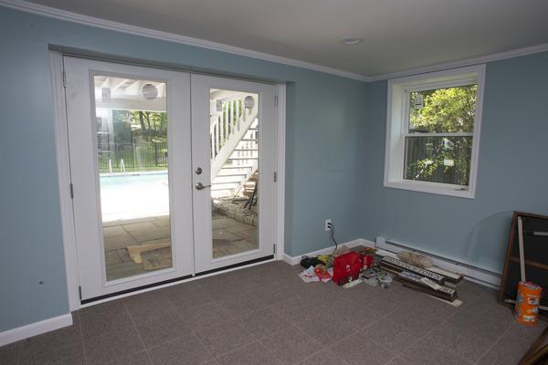 Finished Norwalk, CT basement