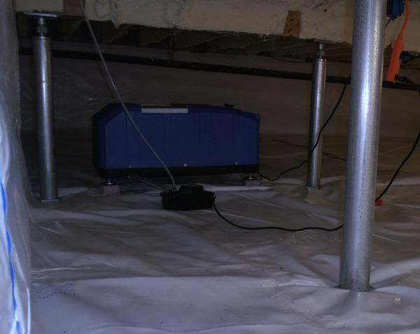 CleanSpace Crawl Space Repair in West Windsor Township, NJ