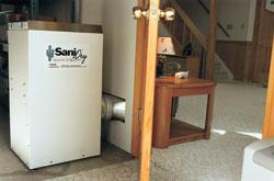 SaniDry Dehumidifier in Hamilton Township