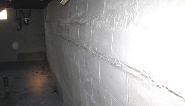 Bowing Basement Walls in Princeton