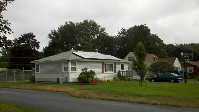 4.14 kW Solar Electric System Installed in Webster, NY