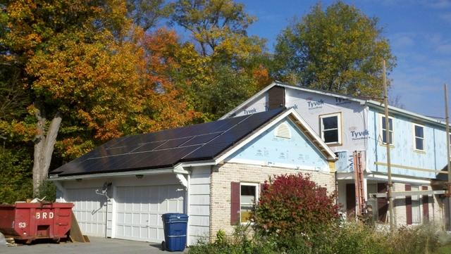 7.44 kW Solar Electric System Installation in Pittsford, New York