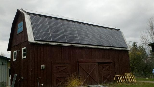 21.62 kW Solar Electric System Installed in Newfield, NY