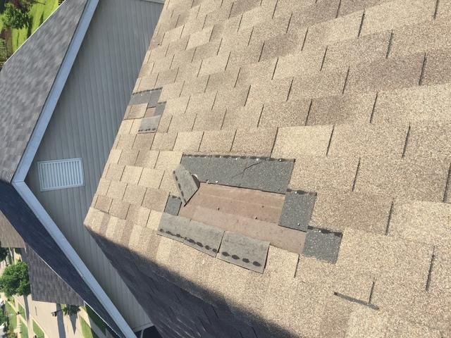 Leaking Roof Repaired in Wentzville, MO