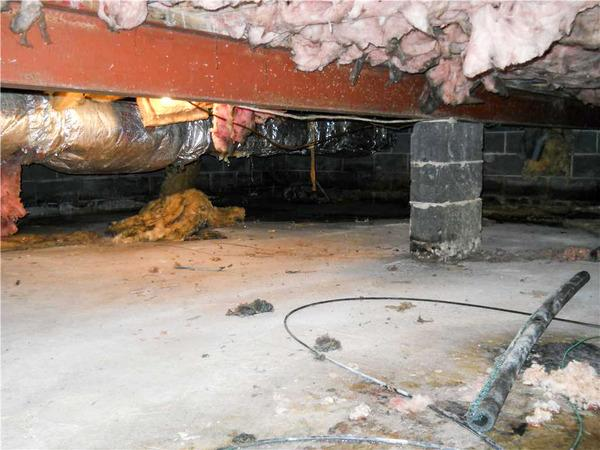 Wet Crawl Space Transformed In Marlton, New Jersey