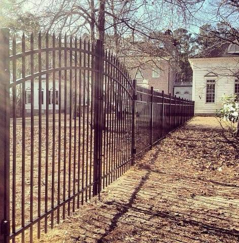 Aluminum Fence Installation in Berryville, VA