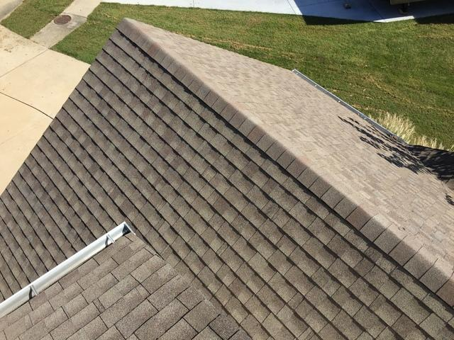 Hail Damage to Roof in Wentzville, MO