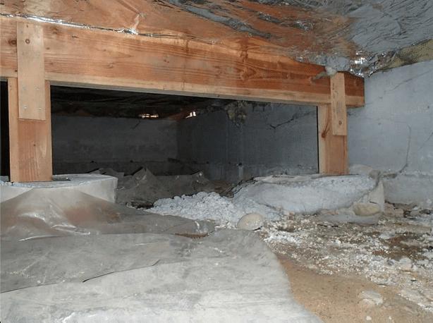 Mill Creek Crawl Space Encapsulation