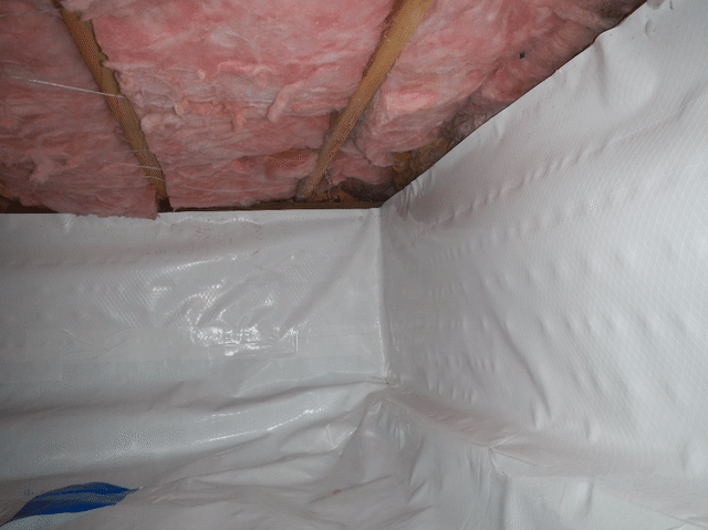Standing Water in Freeland Crawl Space