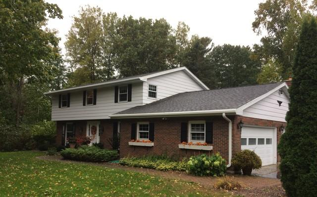 Replacing Roof and Installing LeafGuard Gutters in Sturgeon Bay