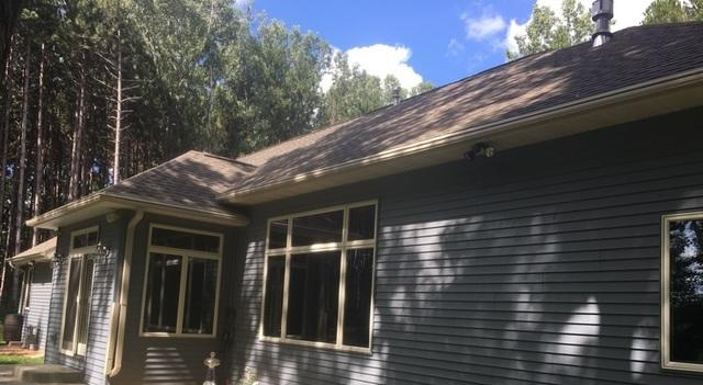 Pine Trees Causing Gutters to Clog in Suamico, WI
