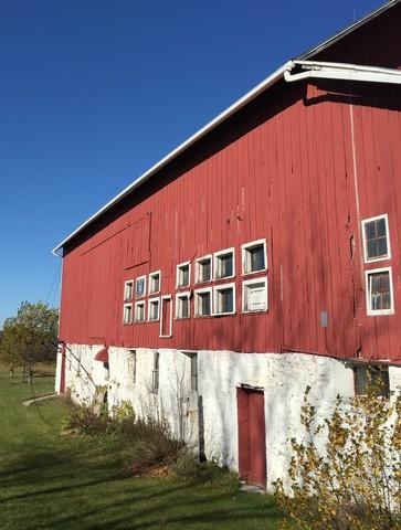 Replacing Gutters on a Barn in Sturgeon Bay