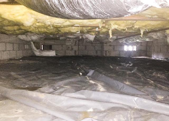 Complete Crawl Space Encapsulation in Jacksonville, NC