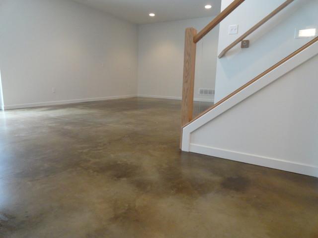 Polylevel for Basement Floor in Villanova, PA