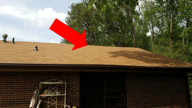 Shingle Match Partial Roof Replacement Fayetteville Ga