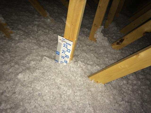 Air Sealing to prevent Energy Loss and Attic Mold in Attic in New London