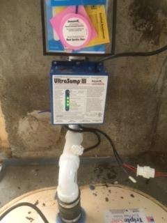 Triplesafe Sump Pump Installation