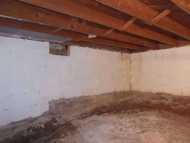 Reviving Cold and Damp Meridian Charter, MI Crawl Space