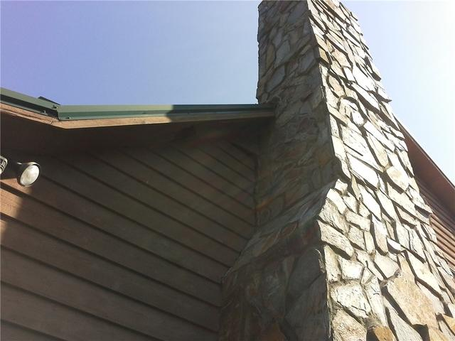 Separating Chimney Corrected with Push Piers in Calhoun Falls, SC