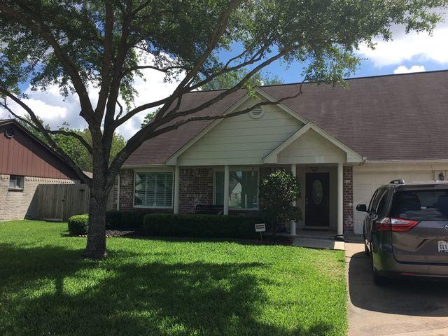 New Composition Shingle Roof for a Hail-damaged Home in Sugar Land, Texas