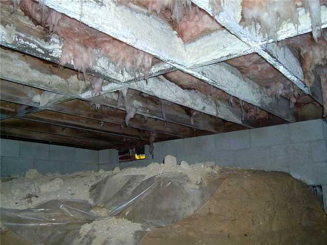 Crawl Space Encapsulation in Cleveland, SC Crawlspace