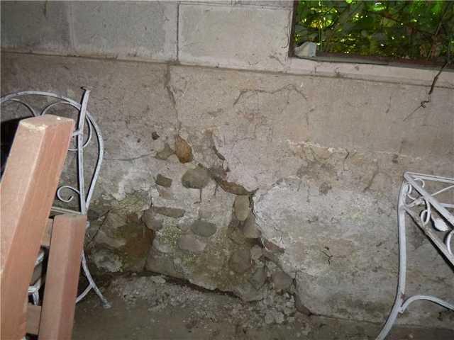 Foundation Repair - Barn's Failing Foundation Repaired In ...