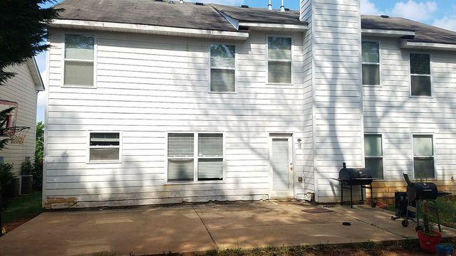 A home with no gutters? We can fix that! And we did on this home in Fairurn...