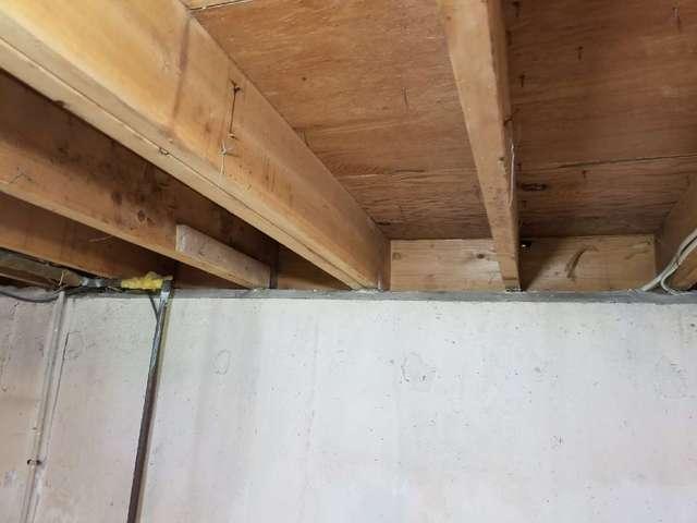 Rim Joist Insulation in Enfield, CT