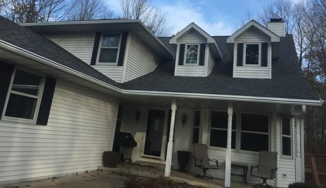 Retired Homeowners in Sobieski Install Maintenance Free Leafguard Gutters