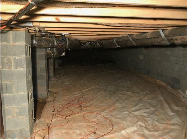 Lansdale, PA Dirt Crawlspace Encapsulation