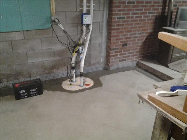 Waterproofing a Basement in Schenectady, NY