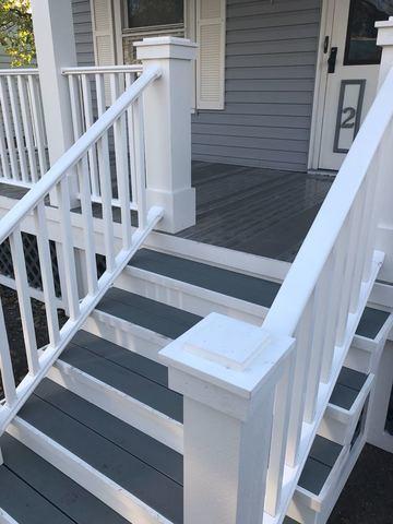Decks New Front Porch In Geneva Ny