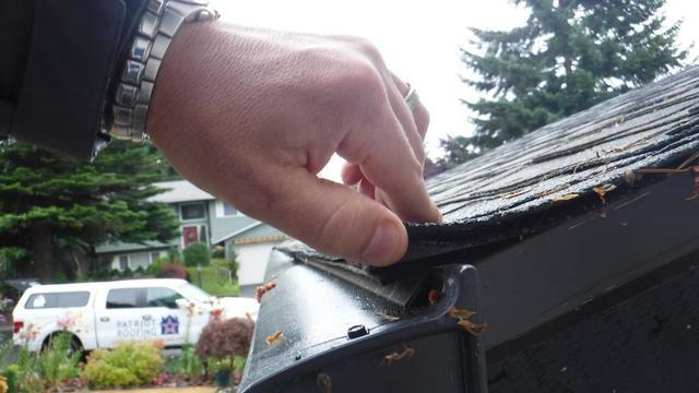 Rot and damage caused by bad gutter protection in Lake Stevens!