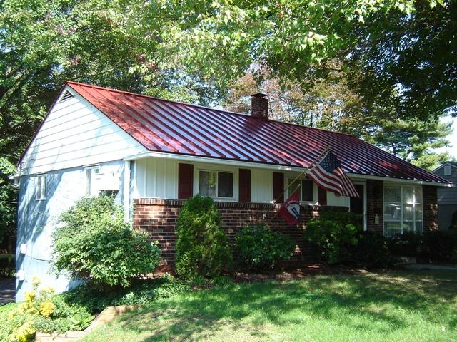 Ranch Home with Standing Seam Metal Roof