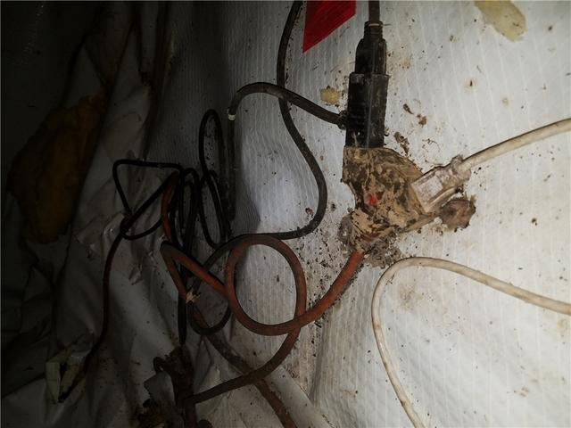 Dirty Crawl Space in West Point, AR