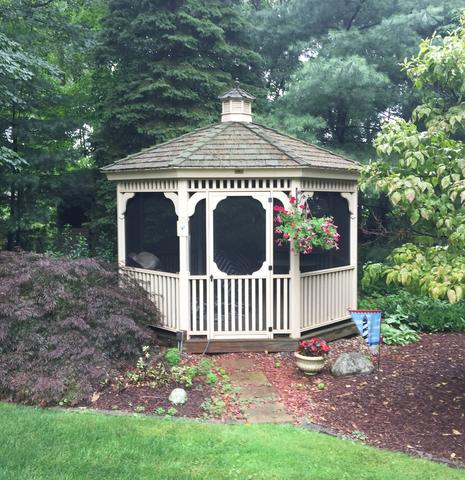 Gazebo Roof Replacement in Southington, CT