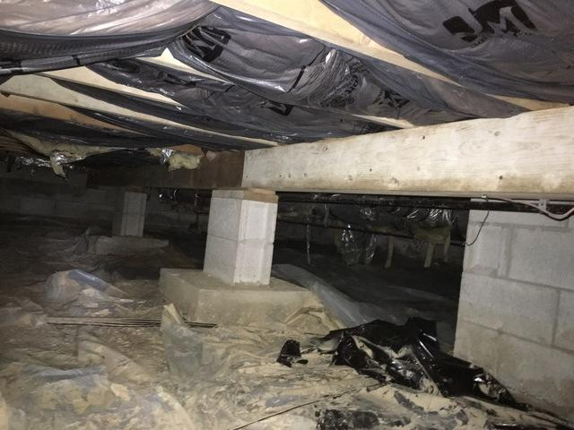 A Crawl Space Overhaul in French Lick, IN