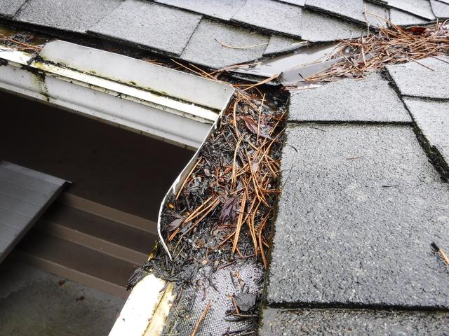 Complete failure of Leaf Filter on a Mount Vernon, WA roof