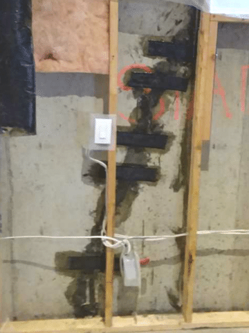 Couple Decides to Fix Foundation Cracks Before Completing Renovations in Co...